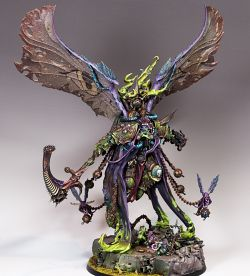 Mortarion - Daemon Primarch of Nurgle