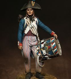 French Revolutionary Drummer