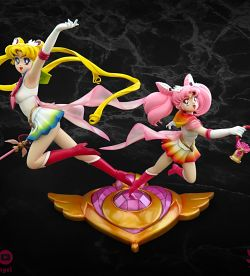 (2016) 1/5 Super Sailor Moon & Super Sailor Chibi Moon