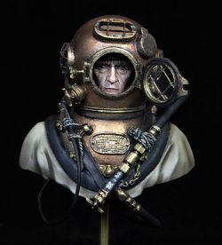 US Navy Diver WW2  Andrea