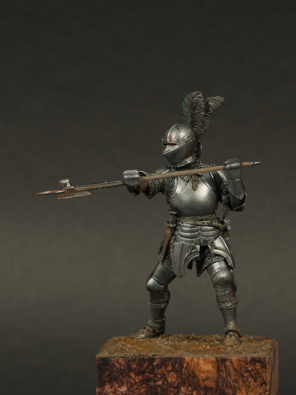 Burgundian Knight 15th Century By Alexey Kazakov 183 Putty Amp Paint