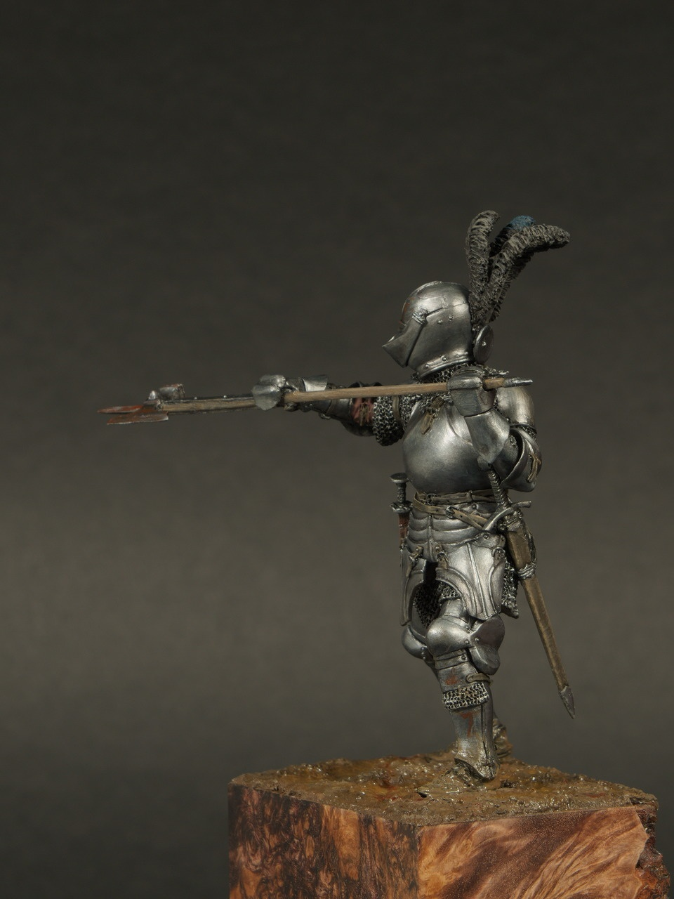 burgundian knight 15th century by alexey kazakov  u00b7 putty u0026paint