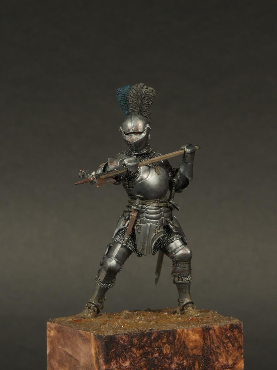 Burgundian knight 15th century by Alexey Kazakov · Putty&Paint