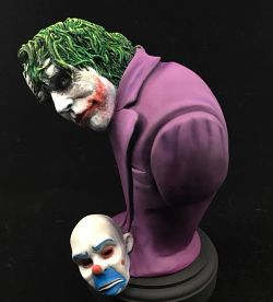 Heath Ledger Joker bust