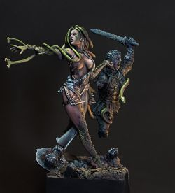 Medusa Box Art for Eclipse Miniatures