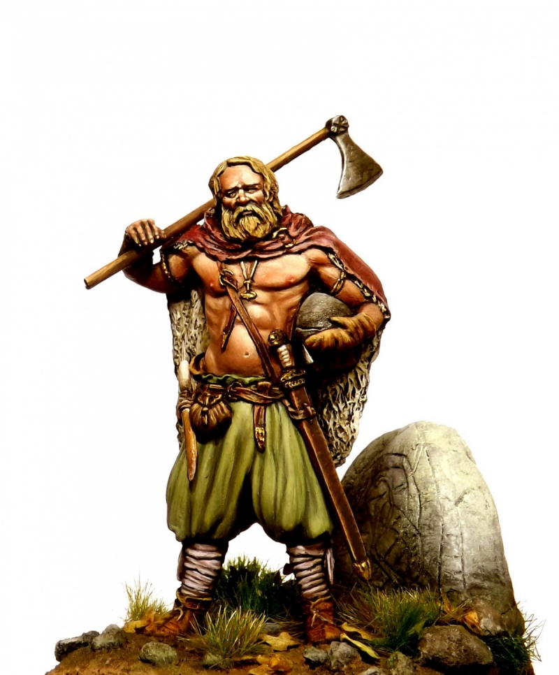 Viking  Warrior of the North Tartar miniatures