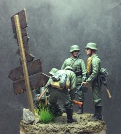 1/35 | Men of Germania Regiment; Apr 1940; North France