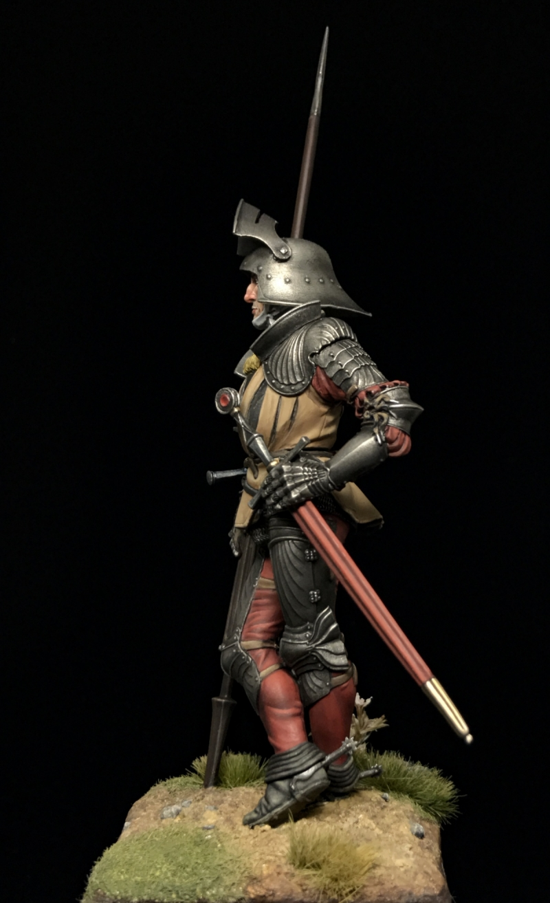 Gothic Knight in Fluted Armour