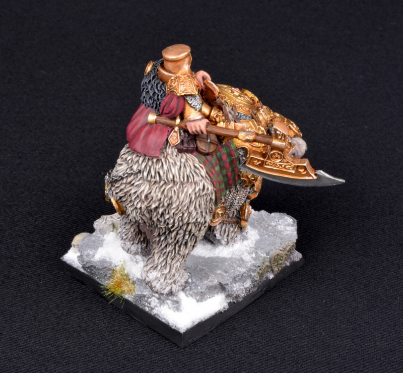 Dwarven War Bear