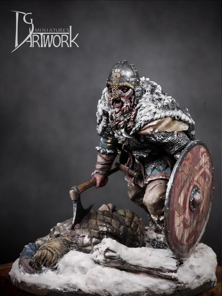 Viking Warrior Wolf Hunter By Dae Hyeong Kim 183 Putty Amp Paint