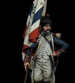 Demi-Brigade Standard Bearer - French Revolutionary Wars