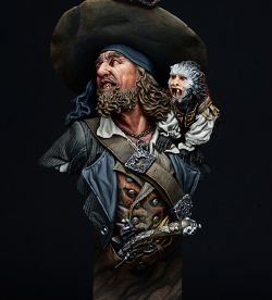 PIRATE FURY (nutsplanet 1/10 Bust)