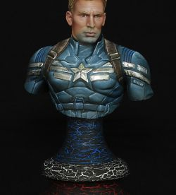 Captain America bust