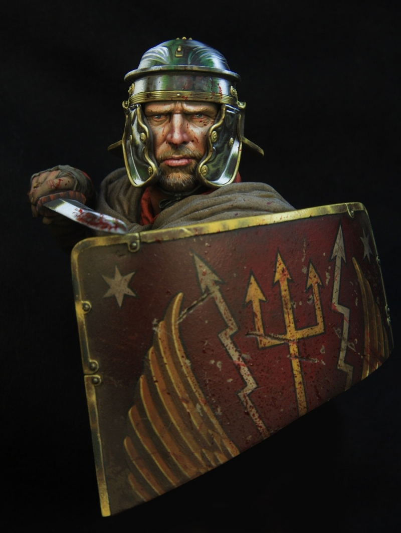 Roman legionairre 1\10 boxart for Young miniatures