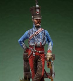 Hussars officer 1st Regiment France 1808