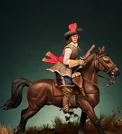 Bavarian Cavalier 17th Century