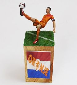 'Oranje!' Dutch football player