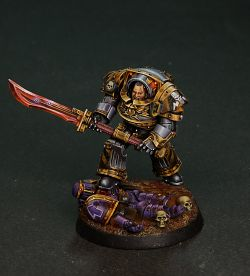 Iron Warriors Praetor Tribune