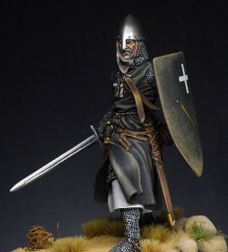 Falcon miniatures 75mm Crusader XII century