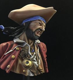 Pirate Bust - Pegaso Models