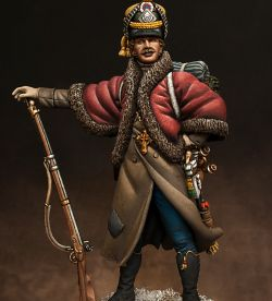 Napoleonic French Voltigeur – Russia 1812