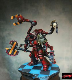 Primaris Blood Ravens Techmarine Conversion