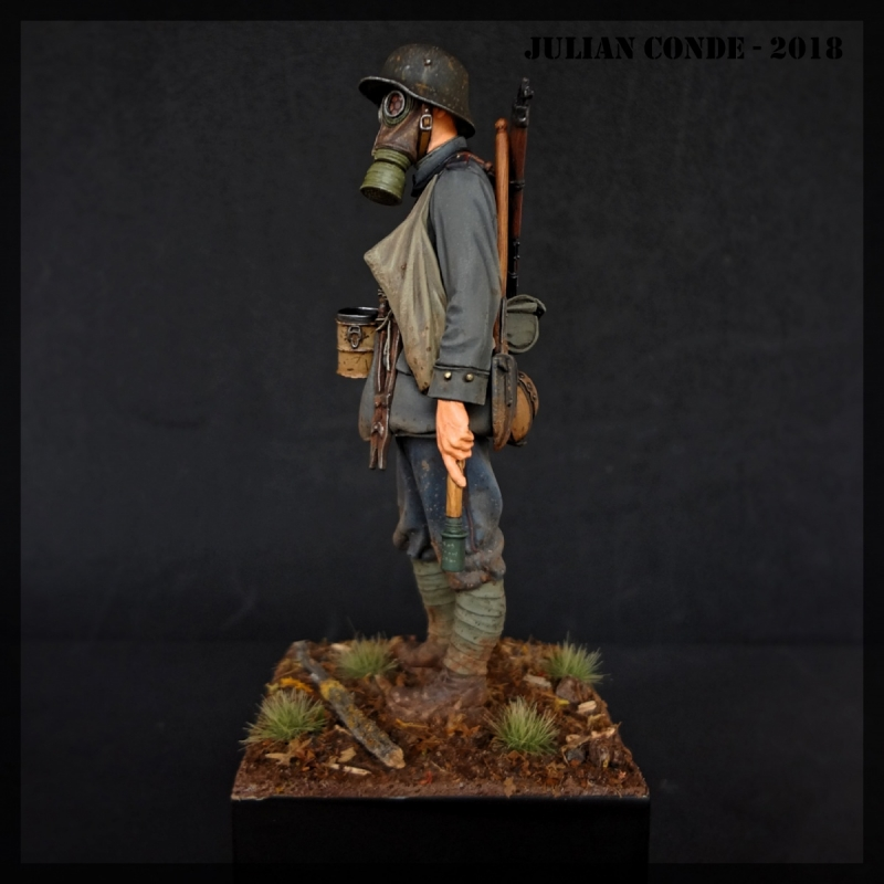 German Stormtrooper - W.W.I - 1917 - Andrea Miniatures