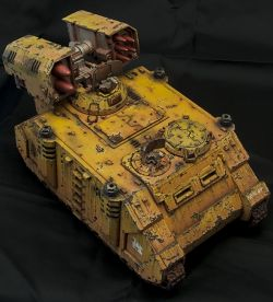 Yellow Storm - Imperial Fist Whirlwind