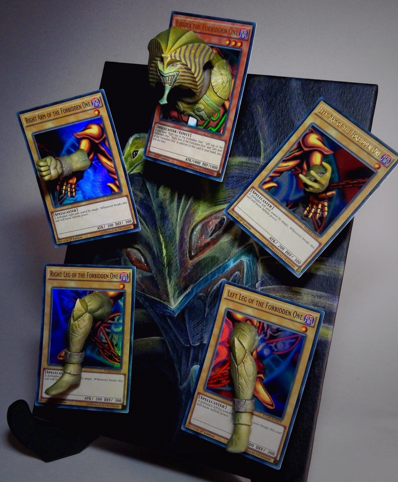 EXODIA The Forbidden One!