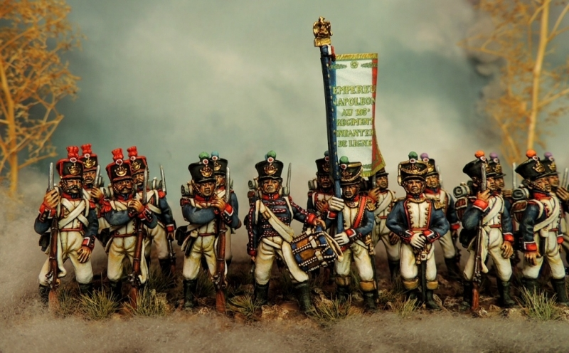 French line infantry during the 1815 campaign
