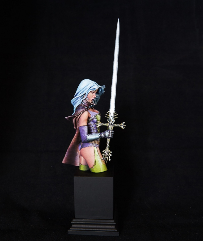 My oh my, that's a big sword - Nocturna Models