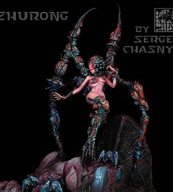 Zhurong, Spider Queen