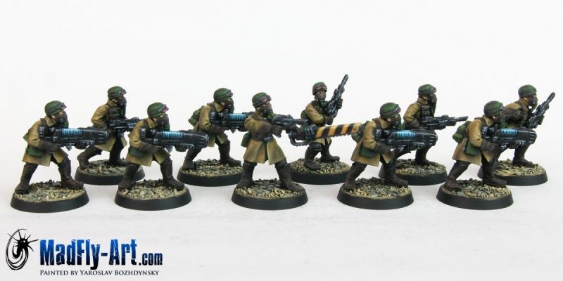 Steel Legion Special Weapons Squad 2