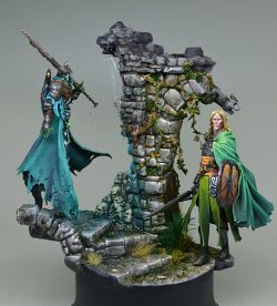 Into the Tomb - Black Crow Miniatures