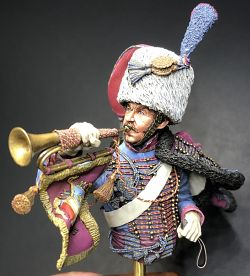 Trumpeter of the Imperial Guard Chasseurs
