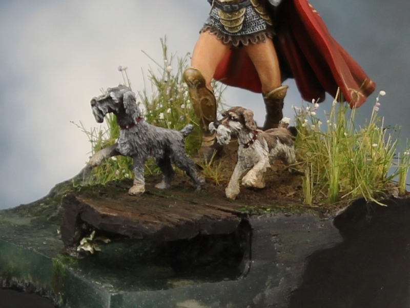 Melissa and her Immortal Schnauzers