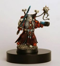 Mephiston, Lord of Death. Blood Angels Chief Librarian.