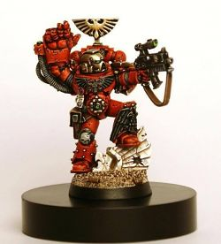 Blood Angels Sternguard Sergeant.
