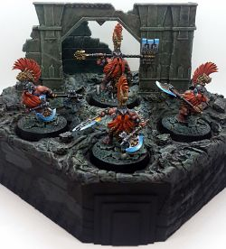Chosen Axes of Shadespire (On Escenic Base)