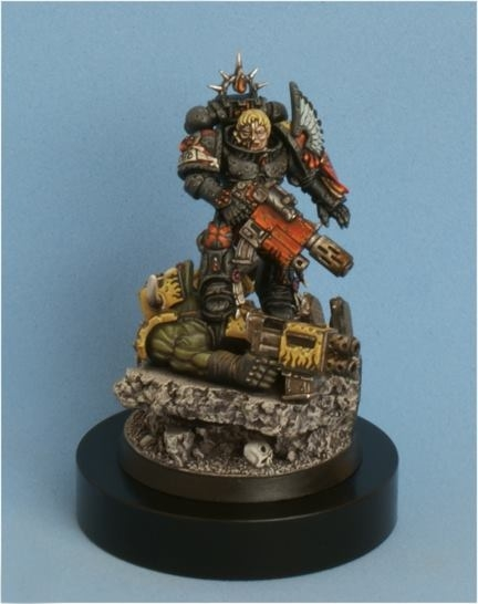 Captain Tycho, Blood Angels Death Company Space Marine.