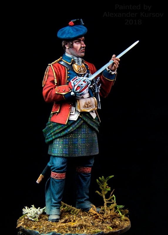 Officer of Black Watch 1758.