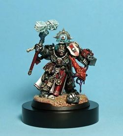 Grey Knights Grand Master Mordrak.