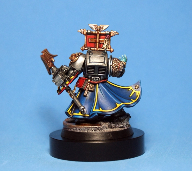 Grey Knights Librarian.