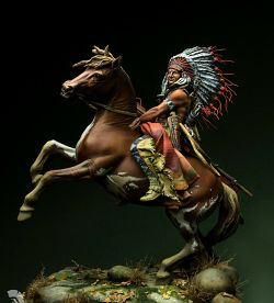 Lakota Chief warrior