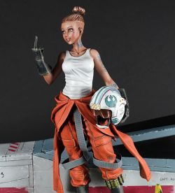 The Rebel - X-Wing Pilot