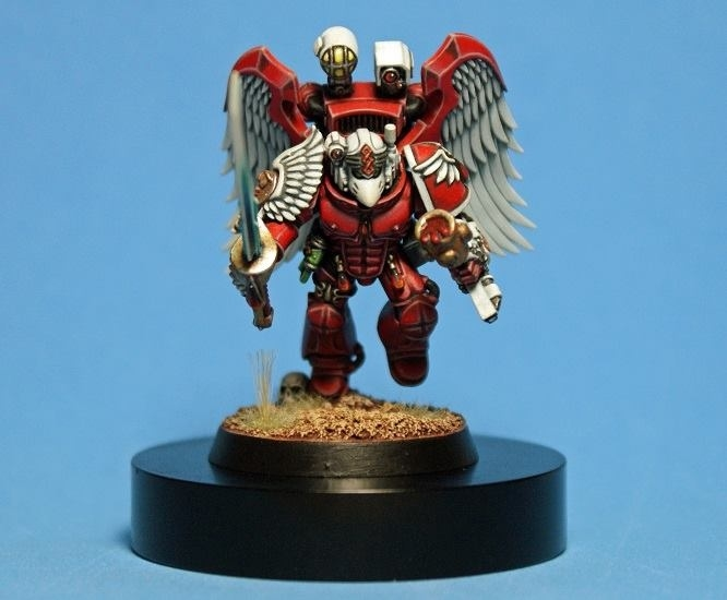 Blood Angels Sanguinary Priest.