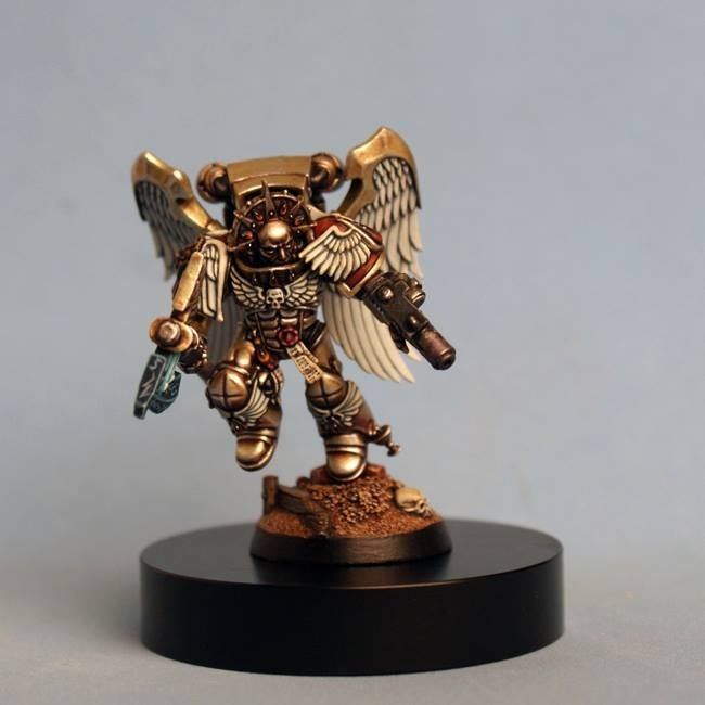 Blood Angels Commander Dante.