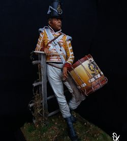 English drummer 44th Essex reg. 1814