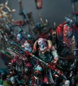 "Slayer Sword winner ""The Might of Khorne"" diorama"