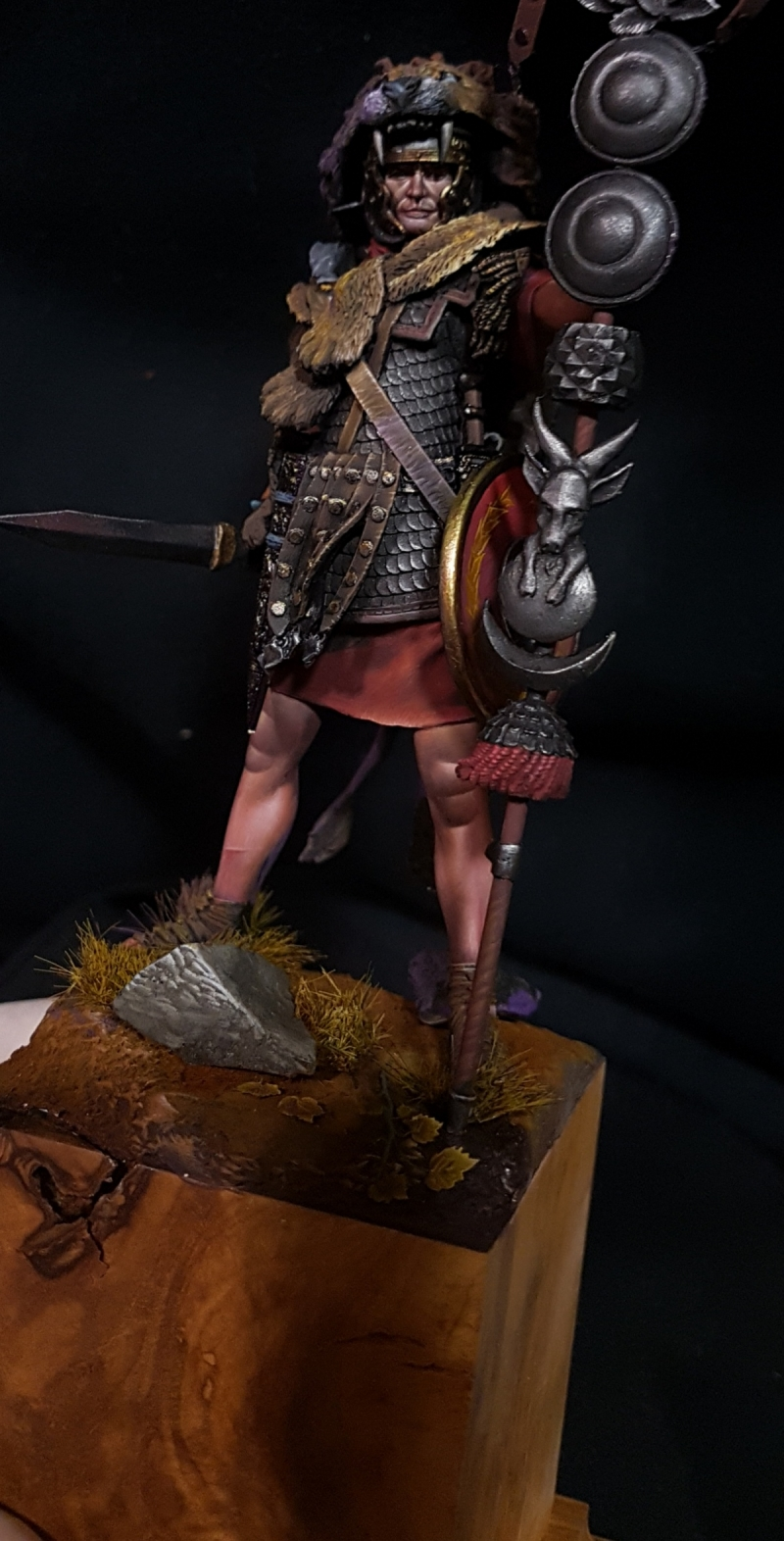 Roman Signifer 90 mm Pegaso Models
